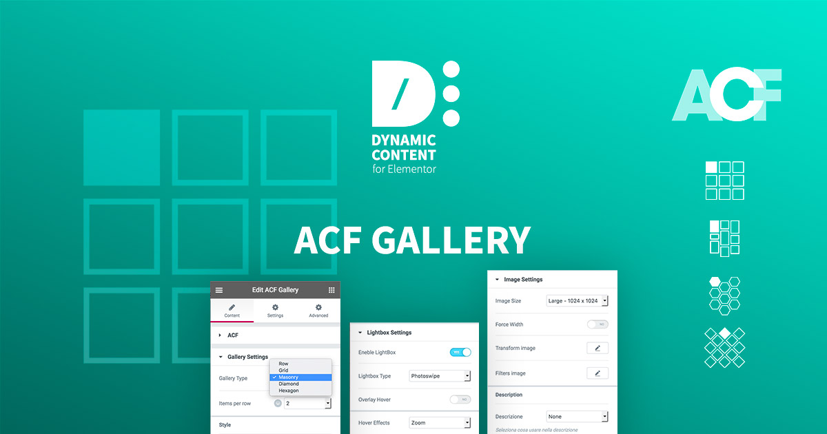 Justified Gallery Dynamic Content For Elementor Wordpress Plugin