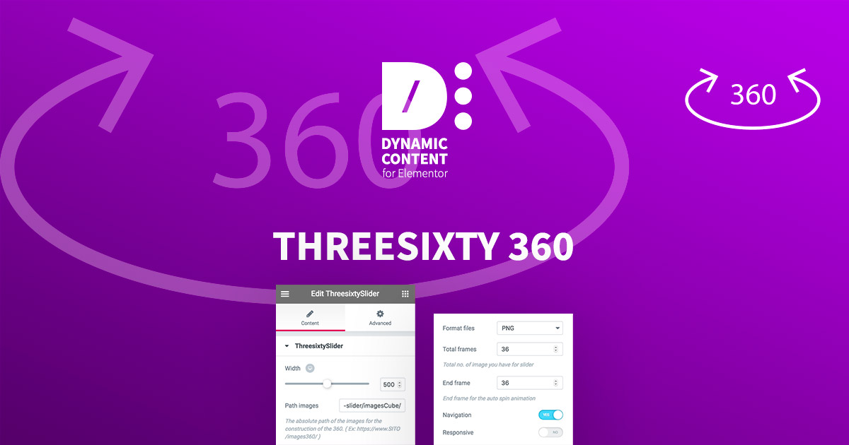 Threesixty 360 - Dynamic Content for Elementor - Wordpress